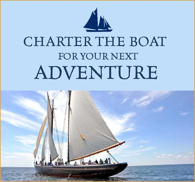 Charter the boat for your next Adventure