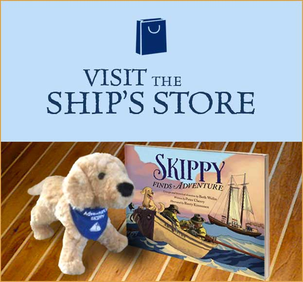 Visit the ship's store