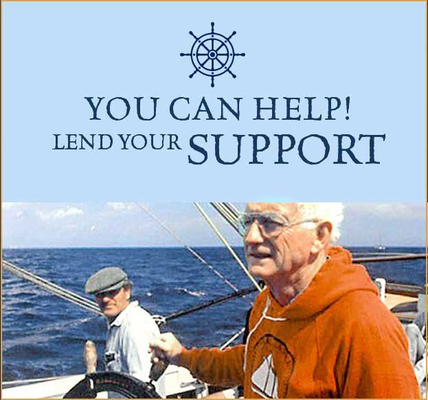 You can help! Lend your support