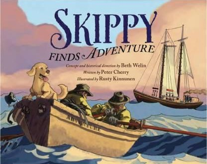 Skippy Finds Adventure, a book for children with historical information and and Adventure!